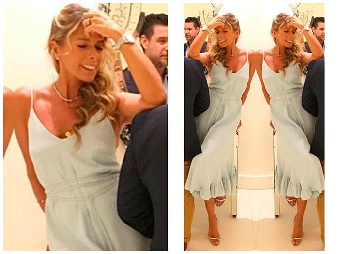 Adriane Galisteu usa vestido de R$ 1,9 mil em evento