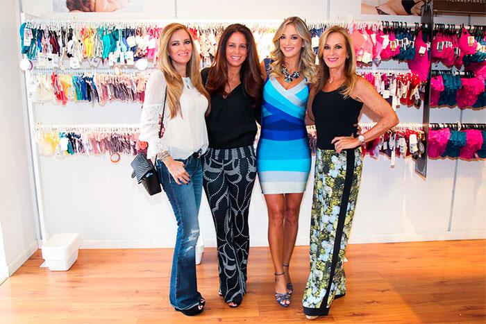 Ticiane Pinheiro lança sua linha de lingerie em São Paulo