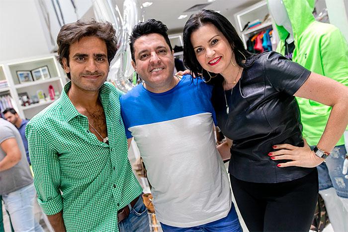 Bruno, da dupla com Marrone, esbanja alegria em lançamento