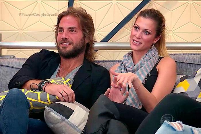 Mario Velloso e Pietra Bertolazzi deixam o Power Couple