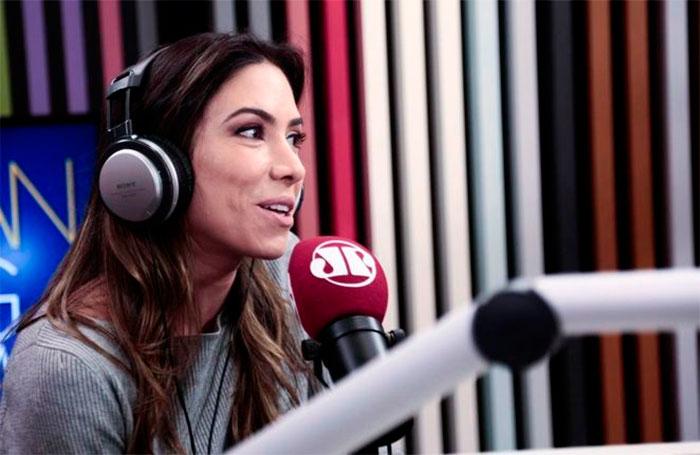 Patrícia Abravanel participa do programa Morning Show