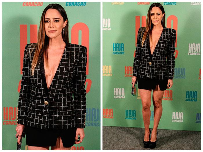 Fernanda Vasconcellos usa blazer de R$ 17 mil
