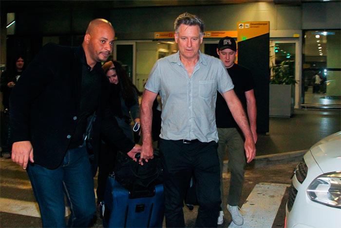 Astro de Hollywood Bill Pullman desembarca em São Paulo