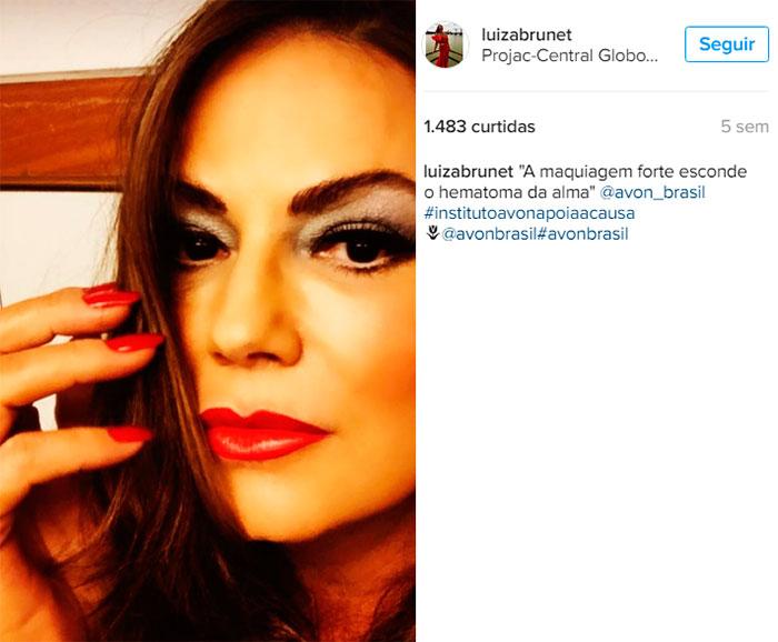Luiza Brunet denuncia ex-namorado por agressão