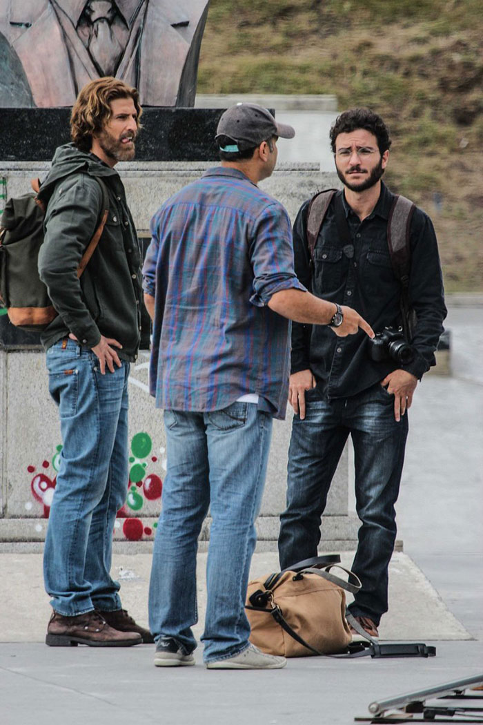 Reynaldo Gianecchini grava cenas de nova novela no Rio