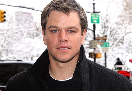 Aniversário de Matt Damon