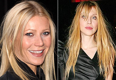 Gwyneth Paltrow vira conselheira de Courtney Love - Grosby-Group