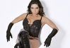 Vice-Miss Bumbum posa como dominatrix -