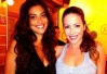Juliana Paes e Renata Dominguez se encontram nem churrascaria -