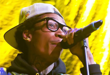 Rapper Wiz Khalifa é acusado de bater carro e fugir do local  - Bang