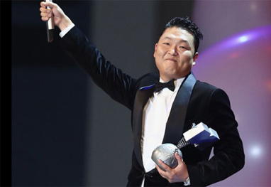 Psy é o protagonista da retrospectiva dos vídeos mais acessados do Youtube - Getty Images