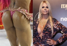 Pitaco virtual: Monique Evans critica bumbum de Gracyanne Barbosa -