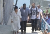 Will Smith, Kim Kardashian e Kanye West visitam o Vidigal, no Rio -