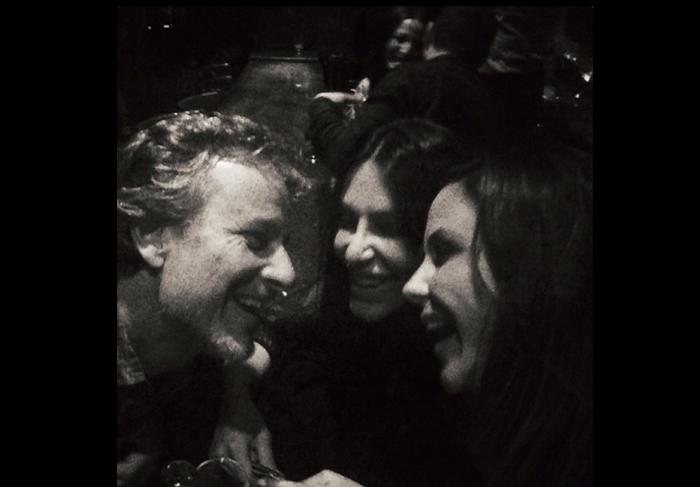 Guilhermina Guinle e o amigo Marcello Novaes passeiam pela noite de Paris - Divulgação Instagram