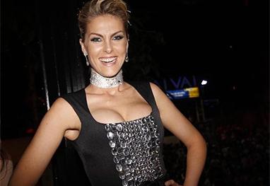 Ana Hickmann passa mal e é internada em hospital de São Paulo - Ag.News