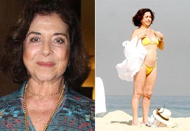 Betty Faria sobre usar bíquini, aos 72 anos: \