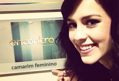 Sophia Abrahão grava Encontro com Fátima Bernardes - Reprodução/Instagram