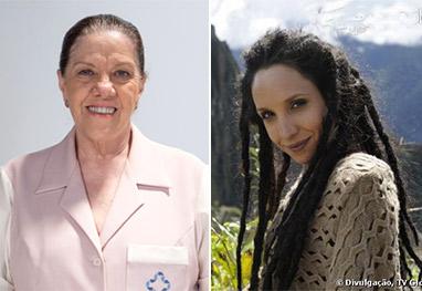Amor à Vida: Alejandra empurra Ciça de penhasco - Amor à Vida/TV Globo