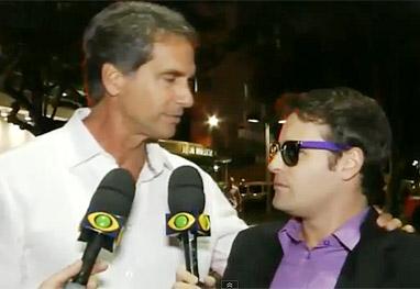 Vesgo do Pânico e Victor Fasano se reencontram, após tapão - Reprodução