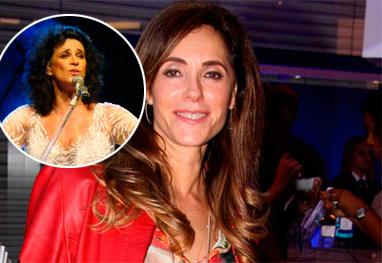 Christiane Torloni é diretora do novo show da cantora Simone - AgNews e Reprodução