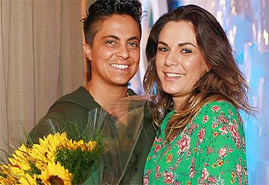 Namorada pede Thammy Miranda em casamento durante programa de TV