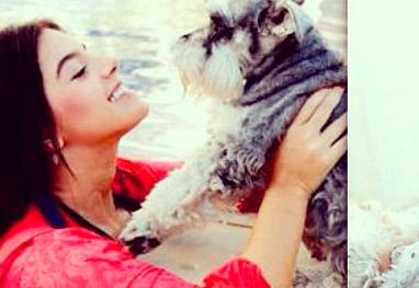 Giovanna Lancelotti está triste pela morte de sua cadelinha