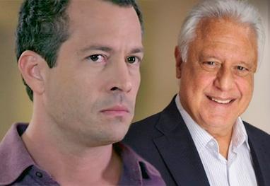 Amor à Vida: César provoca acidente e deixa Bruno à beira da morte - Foto Montagem