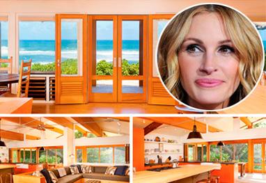 Veja a mansão que Julia Roberts está vendendo no Havaí por R$ 38 milhões - Reprodução