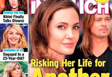 Angelina Jolie arrisca a própria vida para ter outro bebê, diz tabloide - Divulgação