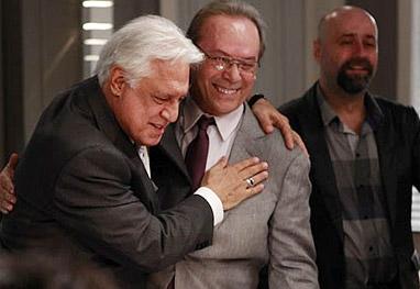 José Wilker grava suas primeiras cenas como Herbert, em Amor à Vida - Amor à Vida/TV Globo