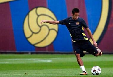 Neymar marca primeiro gol pelo Barcelona e vira assunto mais comentado no Twitter - Reprodução Instagram