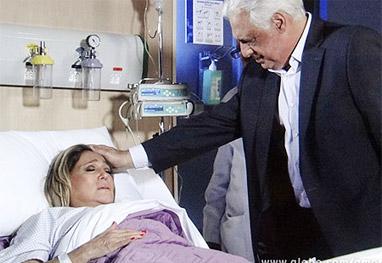 Amor à Vida: Pilar passa muito mal e é internada às pressas sob os cuidados de César - Amor à Vida/TV Globo