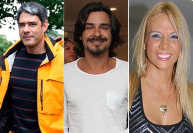 Willian Bonner, André Gonçalves e Carla Perez são os aniversariantes do dia - AgNews