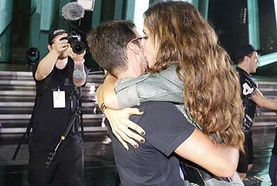 Casais Famosos beijam muito em show de Ivete Sangalo - Fred Pontes/Divulgação