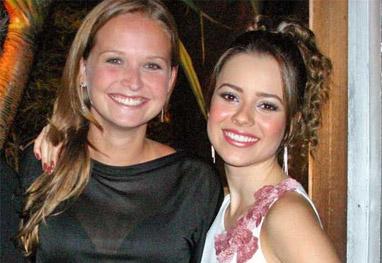 Fernanda Rodrigues será madrinha do bebê de Sandy - Ag.News