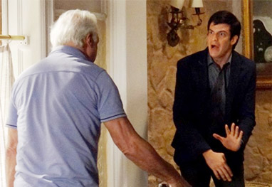 Amor à Vida: Félix agride Aline e acaba apanhando do pai - Amor à Vida/TV Globo