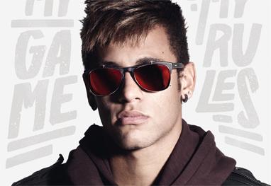 7b477b33e Neymar estrela campanha da grife de óculos Police « G4 Noticias