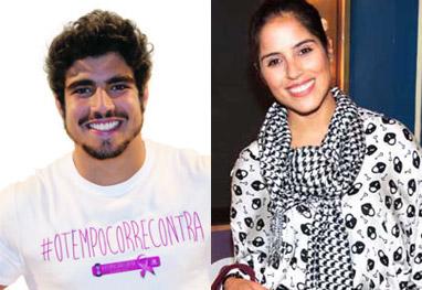Caio Castro e Camila Camargo são flagrados juntos na noite do Rio - Reprodução