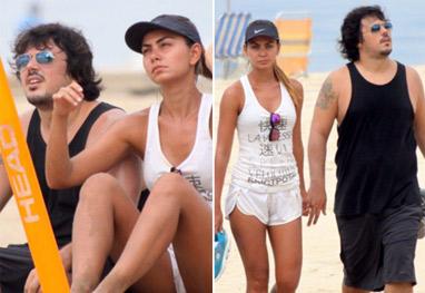 Filha de Datena curte dia de praia com o namorado - Ag News