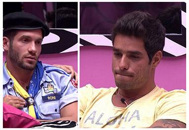 BBB14: Roni e Diego estão no paredão!