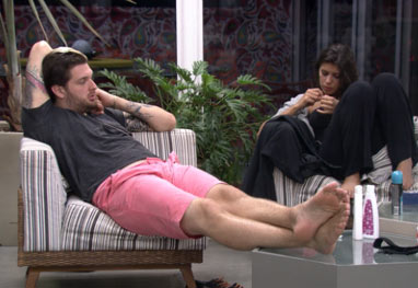 "BBB14: Cássio critica Marcelo: ""É o soldado do general!"""