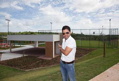 Zezé Di Camargo lança condomínio em Natal, no Rio Grande do Norte -  Marco Rosa/Divulgação