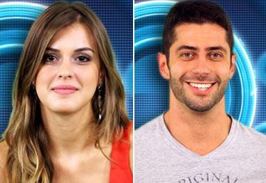 """BBB14: Marcelo e Ângela voltam a se beijar e sister compara: """"Beija melhor que Junior"""""""