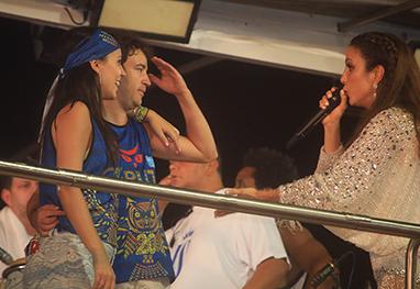 Ivete Sangalo ajuda homem a pedir namorada em casamento em cima do trio - Divulgação