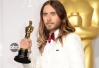 Estatueta do Oscar de Jared Leto cai e quebra -
