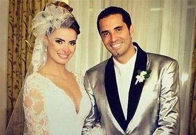 Latino e Rayanne Morais casam com big festa, no Rio - Reprodução