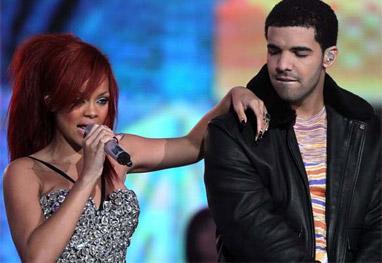 Drake e Rihanna assumem o namoro, diz site - Getty Images