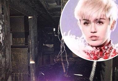 Ônibus da turnê de Miley Cyrus pega fogo - Reprodução/Instagram