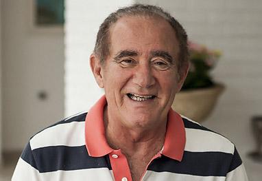 Renato Aragão é transferido para quarto em hospital no Rio - Divulgação/TV Globo/Matheus Cabral