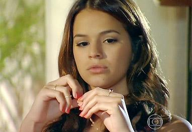 Em Família: Luiza diz que já sentiu atração por mulher - Em Família/TV Globo